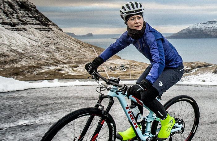 Vintercykeltoej dame mtb